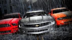 Обои Silver Chevrolet: Chevrolet, Рисованное авто, Chevrolet