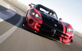 Обои Dodge Viper: Дорога, Шоссе, Трасса, Dodge Viper, Dodge