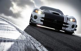 Обои Dodge Viper: Дорога, Dodge Viper, Dodge