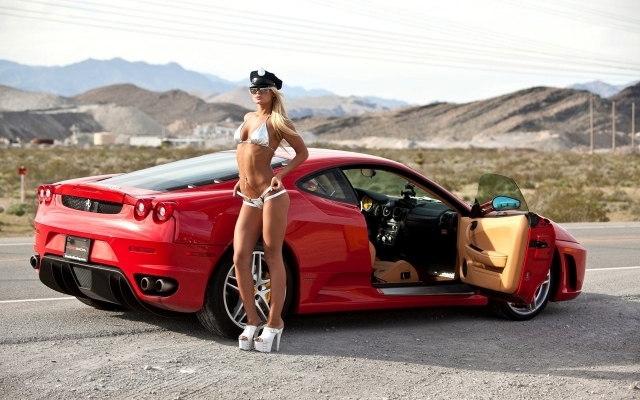 Ferrari and GIRL