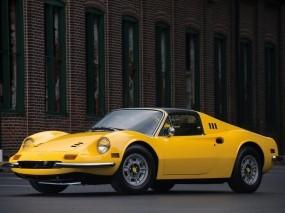 Обои Ferrari Dino 246 GT: Ferrari Dino, Ferrari