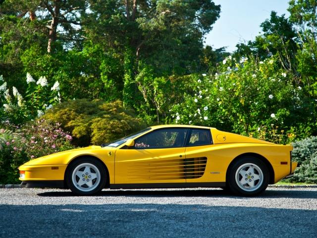 Ferrari Testarossa US-spec 1987–92