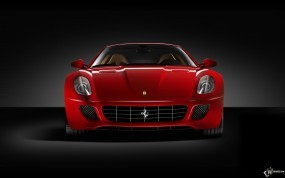 Обои Красный Ferrari 599 GTB: Ferrari 599, Ferrari