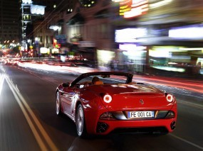 Обои Ferrari: Скорость, Дорога, Ferrari, Калифорния, Ferrari