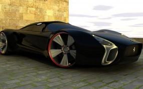 Обои Ферарри суперкар: Ferrari, Concept, Суперкар, Art, Ferrari
