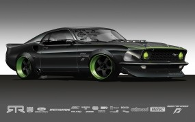 Ford Mustang 1969 RTR-X