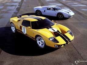 Обои Ford GT40: Ford GT40, Ford