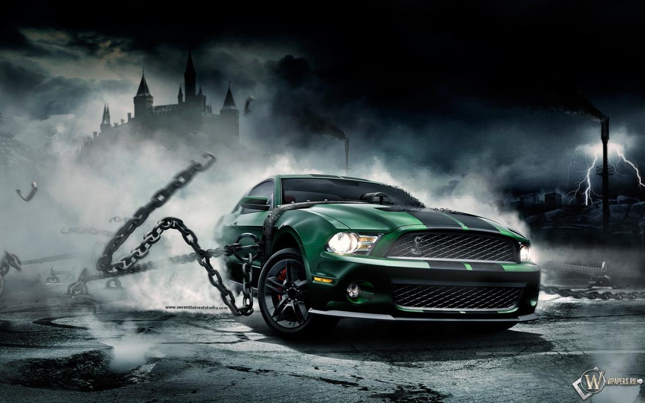 Mustang Monster 1280x800
