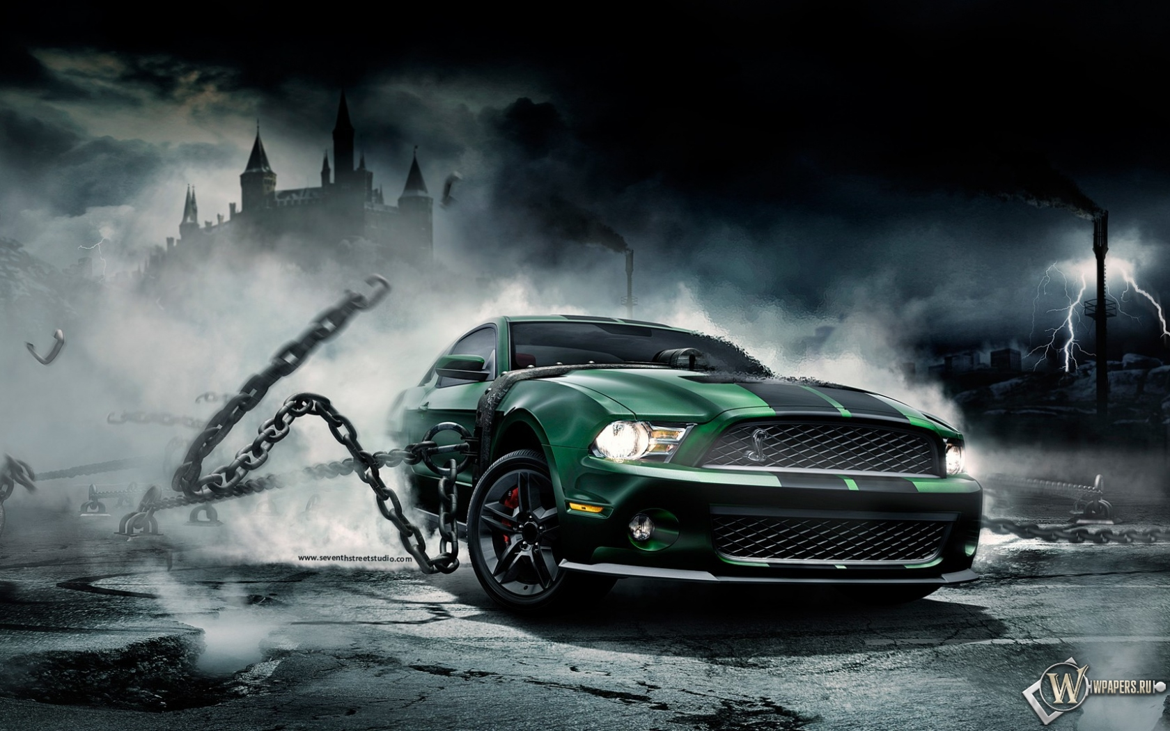 Mustang Monster 1680x1050