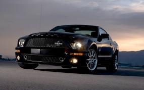 Черный Ford Shelby