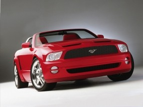 Обои 2005 Ford Mustang GT Convertible: Кабриолет, Ford Mustang GT, Ford