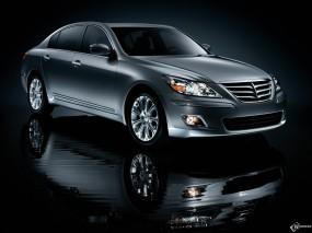 Обои Hyundai Genesis: Hyundai Genesis, Hyundai