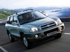 Обои Hyundai Santa Fe Classic: Внедорожник, Hyundai Santa Fe, Hyundai