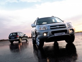 Обои Hyundai Santa Fe Classic: Внедорожники, Hyundai Santa Fe, Hyundai