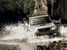 Обои Hyundai Terracan: Внедорожник, Hyundai Terracan, Hyundai