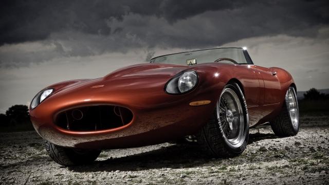Jaguar e type speedster