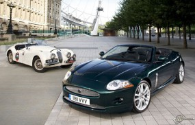 Обои Jaguar XK: Кабриолеты, Jaguar XK, Jaguar