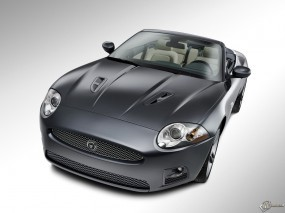 Обои Jaguar XKR Cabrio: Jaguar XKR Cabrio, Jaguar