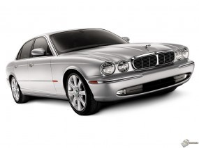 Обои Jaguar XJ8: Jaguar XJ, Jaguar