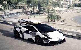 Lamborghini Gallardo Ski Transporter