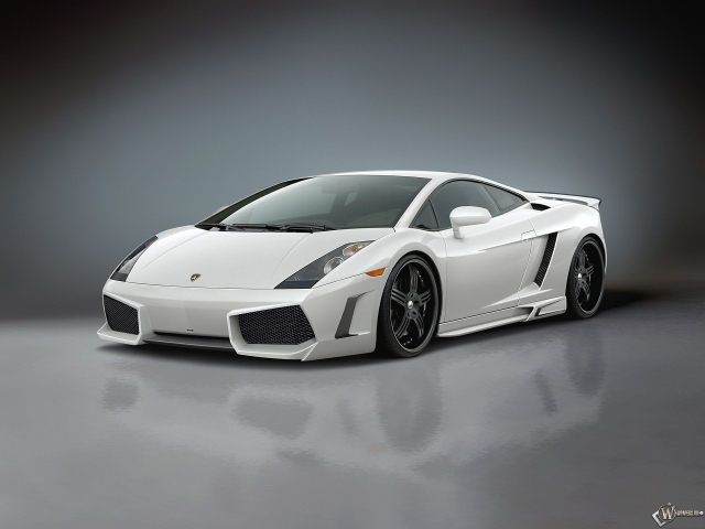 Lamborghini Gallardo 2009 White