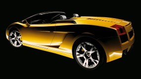 Обои Lamborghini Gallardo Spyder: Кабриолет, Lamborghini Gallardo, Lamborghini