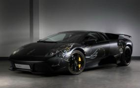 Обои Lamborghini Murcielago: Lamborghini Murcielago, Аэрография, Lamborghini