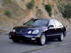 Обои Lexus GS: Асфальт, Lexus GS, Lexus