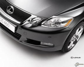 Обои Lexus GS: Бампер, Капот, Lexus GS, Lexus