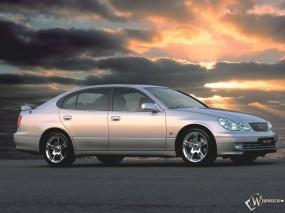 Обои Lexus GS 430 V8: Облака, Lexus GS, Lexus