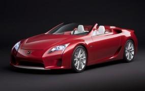 Обои Lexus LF-A: Кабриолет, Lexus, Concept, Lexus LF-A, Родстер, Lexus