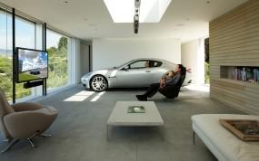Гараж для Maserati от Holger Schubert