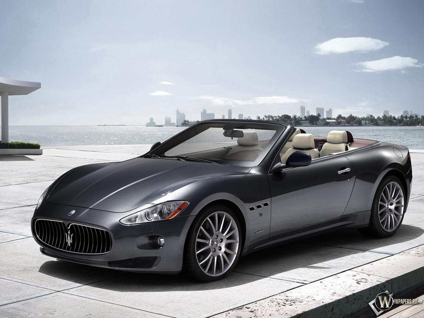 Maserati Grand Turismo кабриолет 1400x1050