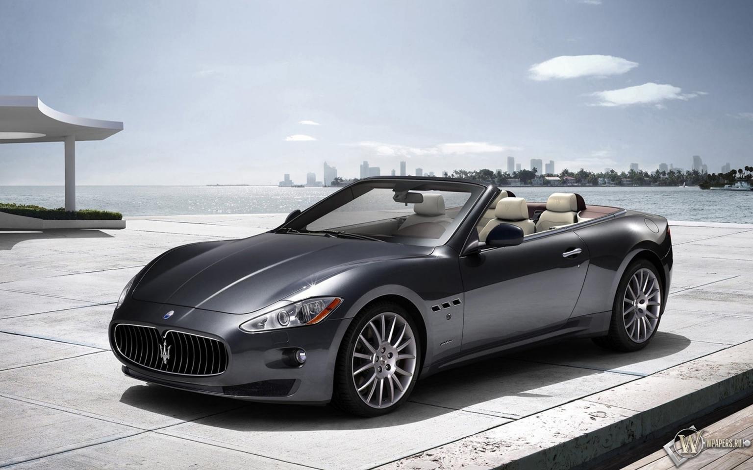 Maserati Grand Turismo кабриолет 1536x960