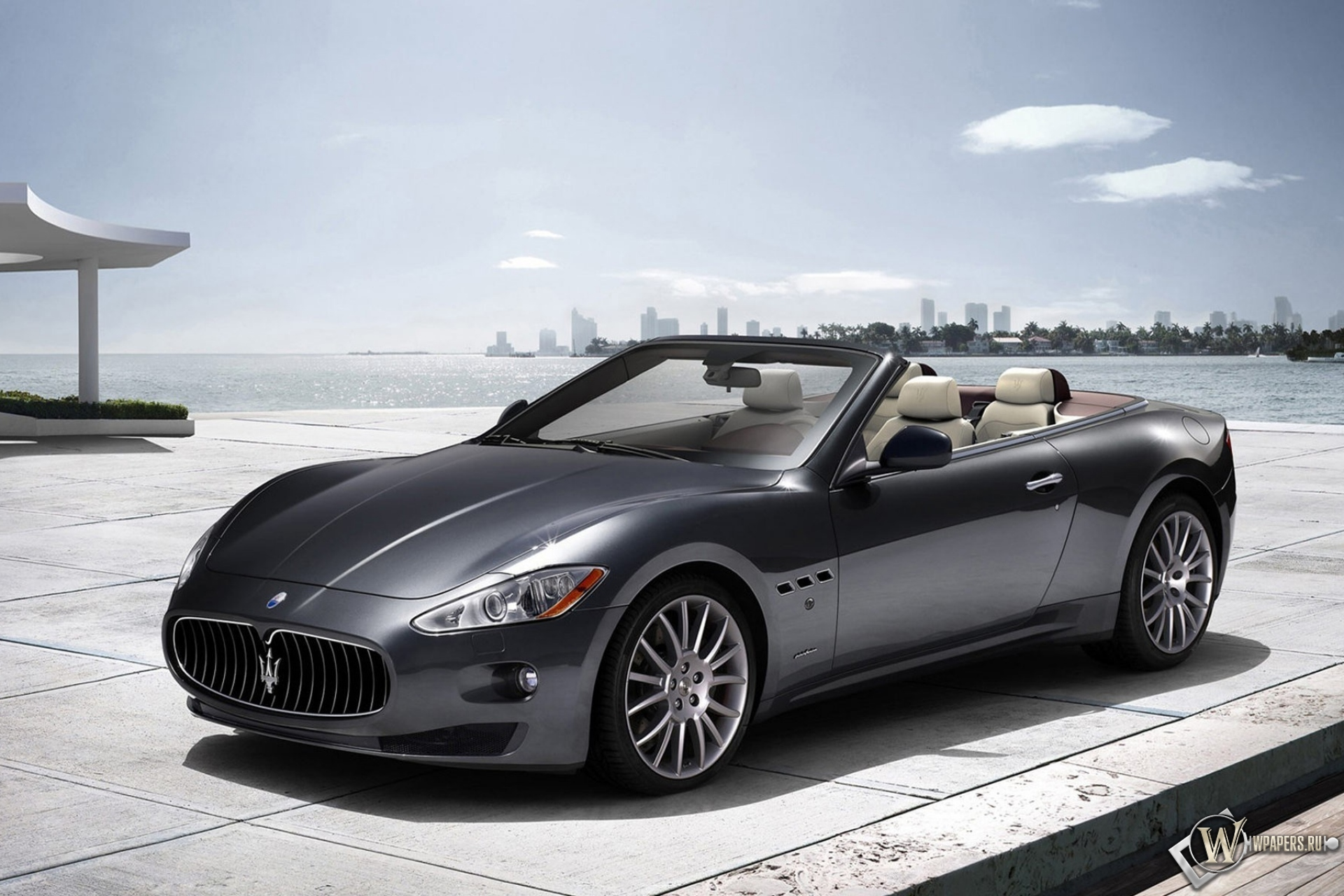 Maserati Grand Turismo кабриолет 1920x1280