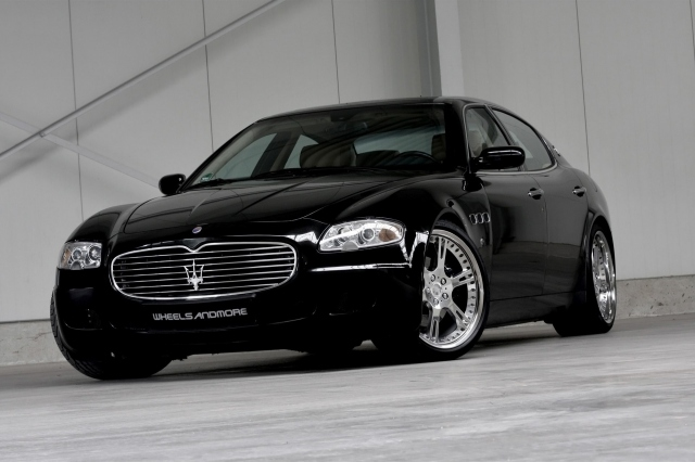 2011 Wheelsandmore Maserati Quattroporte Italian Job