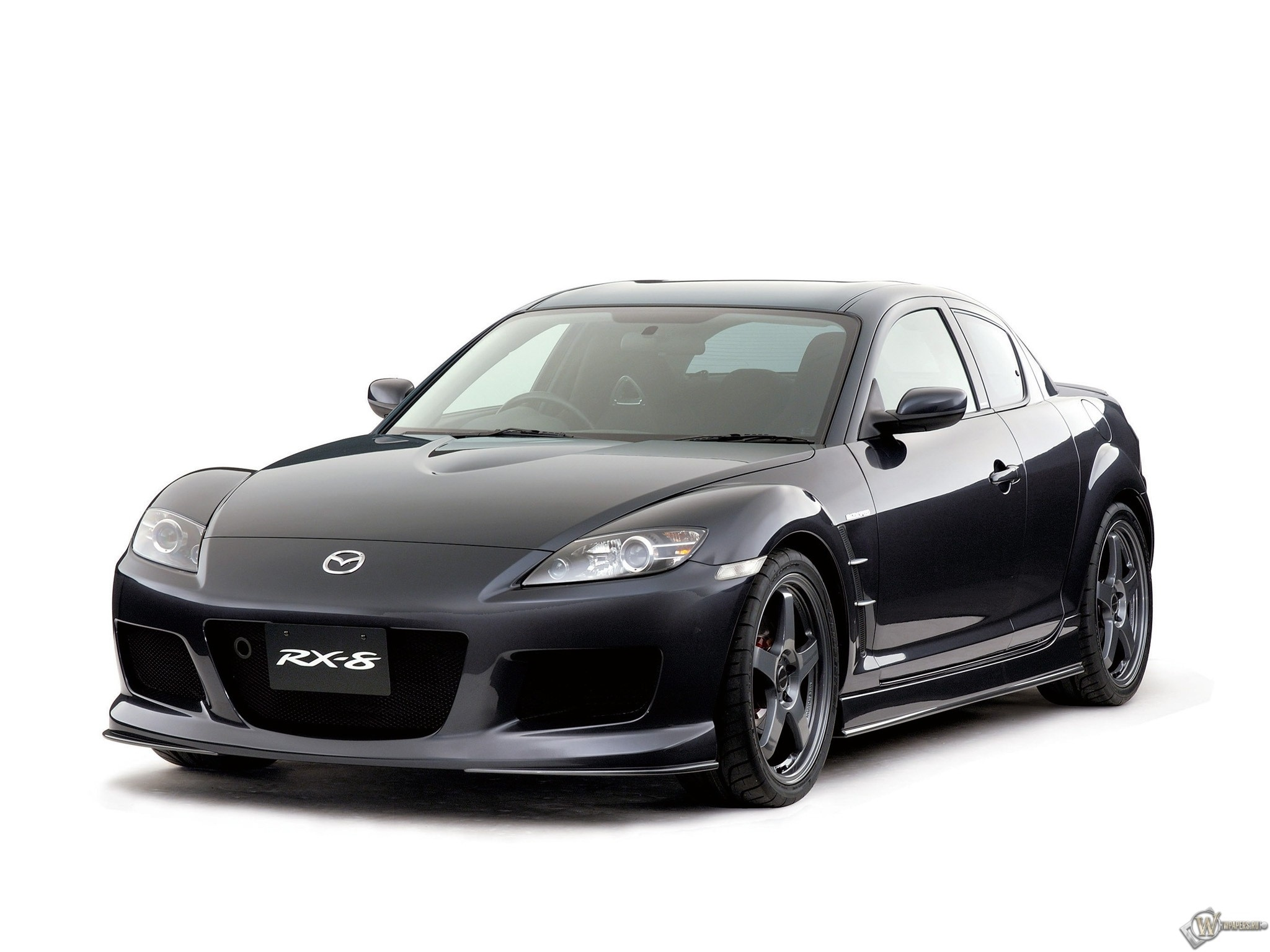 Скачать обои Mazda Rx 8 Чёрный Mazda Rx 8 для рабочего стола 2048х1536 4 3 бесплатно Фото