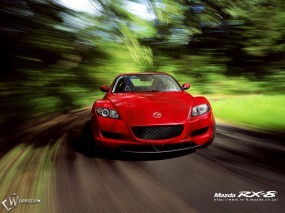 Обои Mazda RX-8: Скорость, Mazda RX-8, Mazda