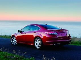 Обои Красная Mazda 6: Красная мазда, Mazda 6, Mazda