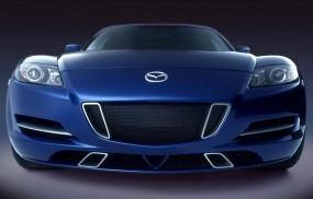 Обои Mazda RX-8: Синий, Mazda RX-8, Mazda