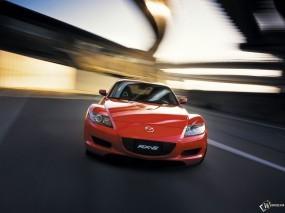 Обои Mazda RX-8: Mazda RX-8, Красная мазда, Mazda