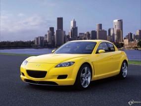Обои Mazda RX-8: Желтый, Mazda RX-8, Mazda
