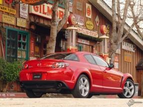 Обои Mazda RX-8: Mazda RX-8, Mazda