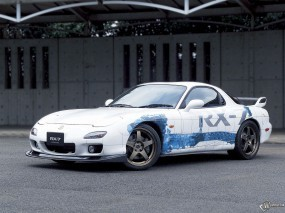 Обои Mazda RX-7: Mazda RX-7, Mazda