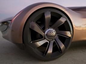 Обои Mazda Nagare Concept: Мазда, Диск, Концепт, Колесо, Mazda