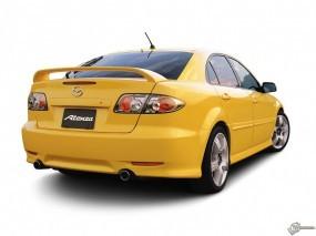 Обои Mazda 6: Желтый, Mazda 6, Mazda