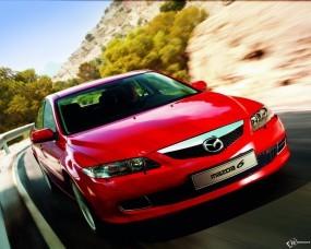 Обои Mazda 6: Красная мазда, Mazda 6, Mazda