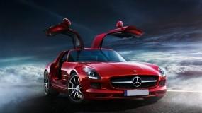 Обои Mercedes SLS AMG: Mercedes SLS, Mercedes