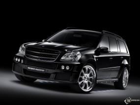 Обои Мерседес Brabus GL: Brabus, Mercedes GL, Mercedes