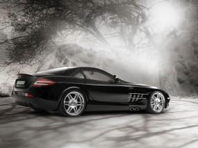 Обои Мерседес Brabus: Mercedes SLR, Brabus, Mercedes